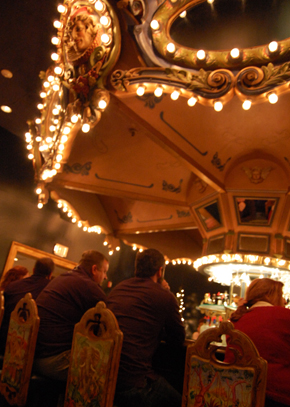 Carousel Bar - Photo Courtesy Brian P. Miller Photography