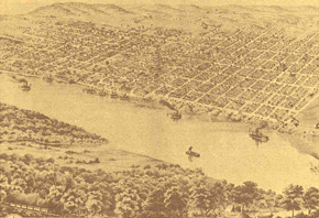 Leavenworth, Kansas circa 1800's-Courtesy of the Command General Staff College  of Ft. Leavenworth