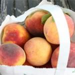 Tomato, Peach, Caprese